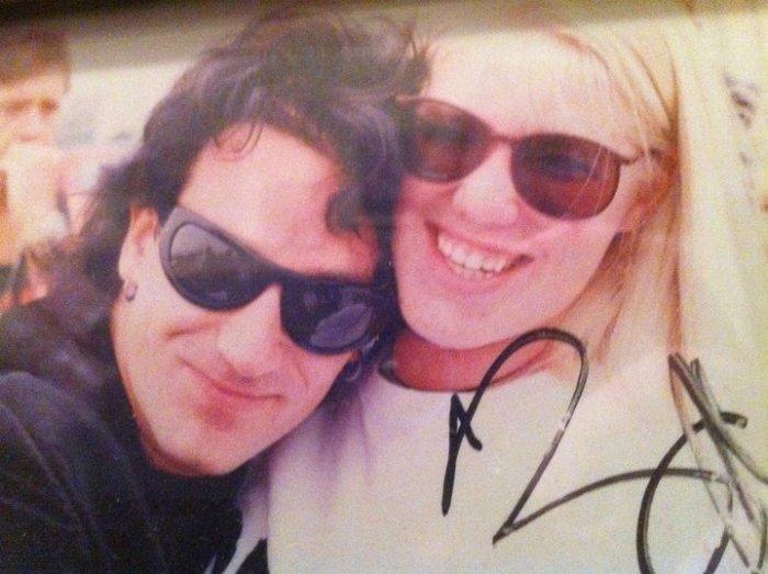 Bono and me 1992