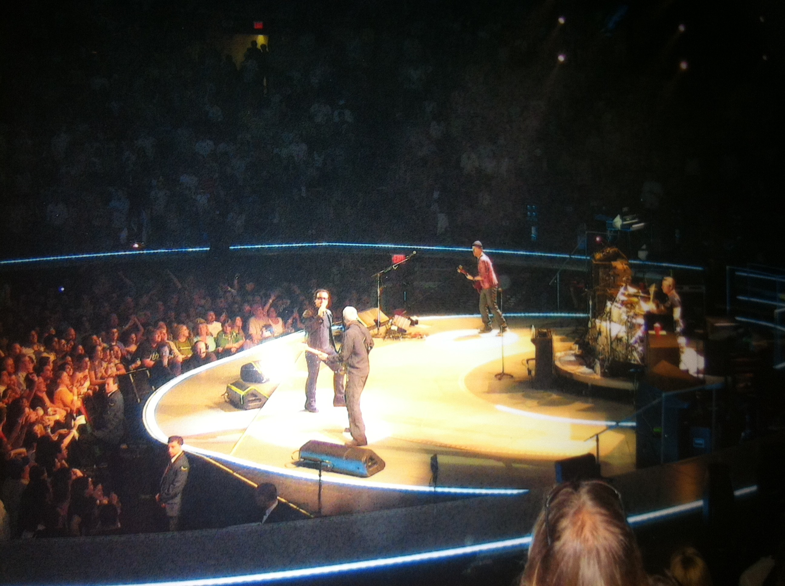 saturday - U2 At Madison Square Garden