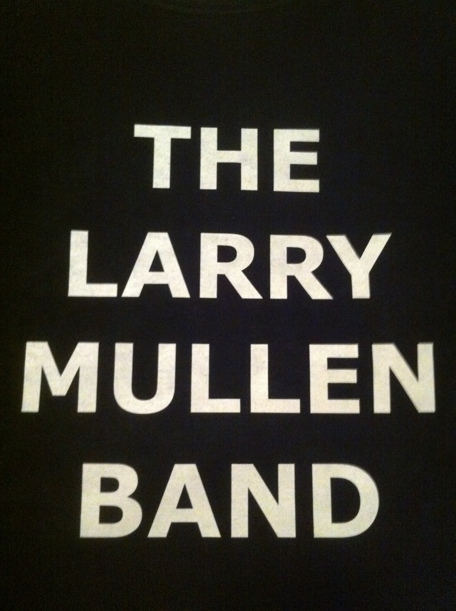 Larry Mullen Jr! – On the Road With U2