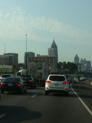 terrible Atlanta traffic