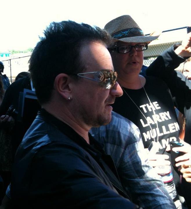 5 me and Bono 2011