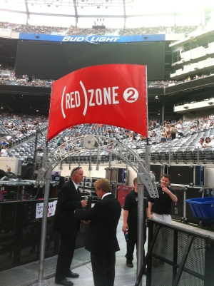 the (RED) zone