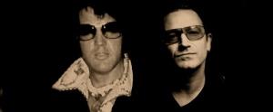 Elvis and Bono