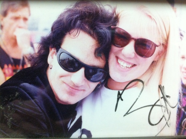 Bono and me ZooTv August 1992